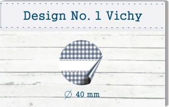 Design vichy No.1 rund